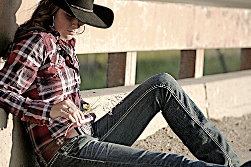 More Senior Portraits - The South Dakota Cowgirl