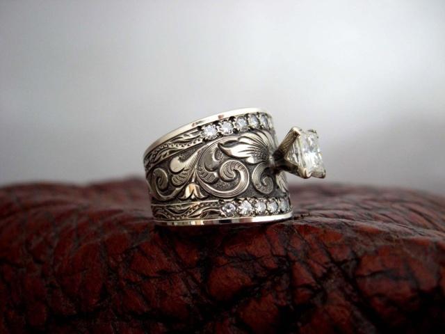 Cowgirl Weding Rings 06 - Cowgirl Weding Rings