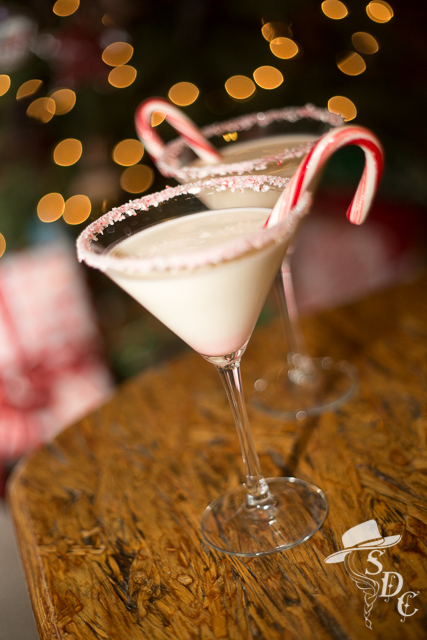 peppermint martini, south dakota cowgirl, christmas cocktails